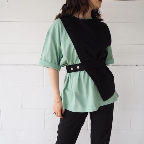 linen half  vest