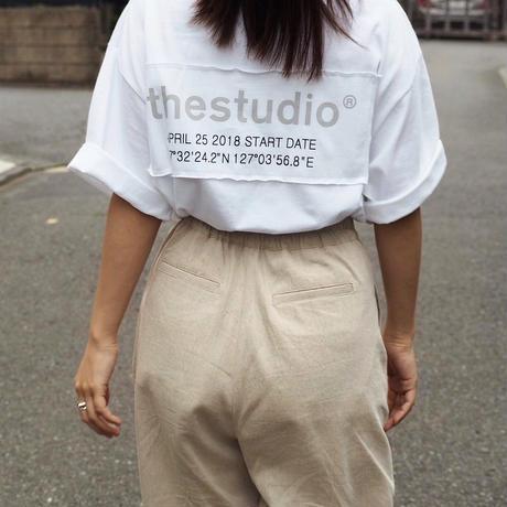🚻the studio tee (WHT)