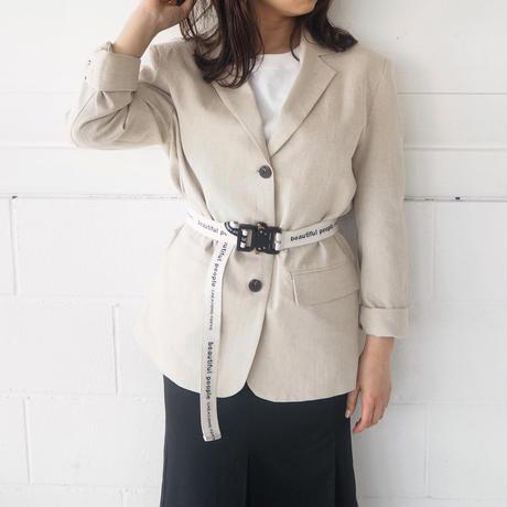 linen single  jacket (IVO)