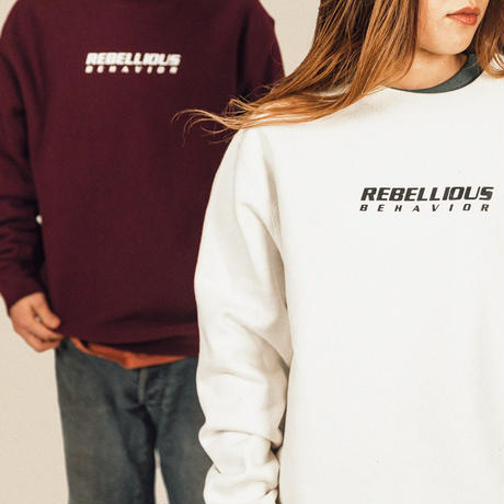 RBLS SP LOGO CREW NECK SWEAT PRM