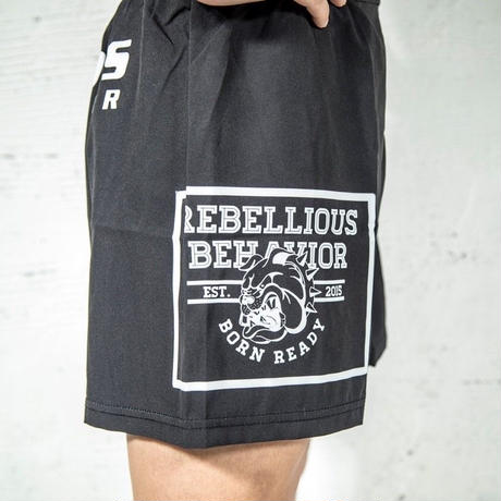 RBLS SP LOGO FIGHT  SHORTS