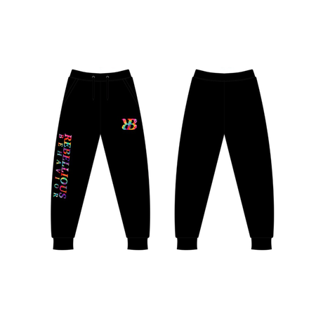 I.H TIE DYE SWEAT PANTS
