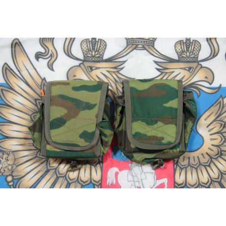 FSB放出 官給品 旧ロット フローラ迷彩 メディカルポーチ ガーゼ付き