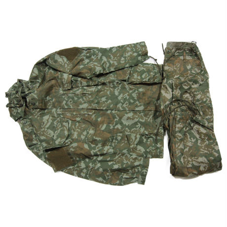 SSO製 フード付き Palma迷彩  戦闘服 上下セット