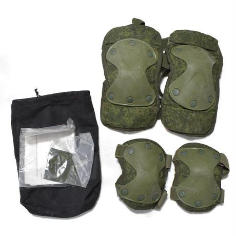 ロシア連邦軍官給品 6b51 ニーパッド エルボーパッドセット