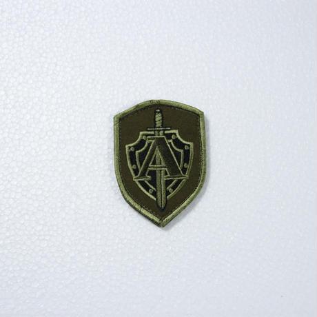 """Armytex製 FSB TsSN """"A"""" アルファ部隊 袖パッチ OD ベルクロ付き"""