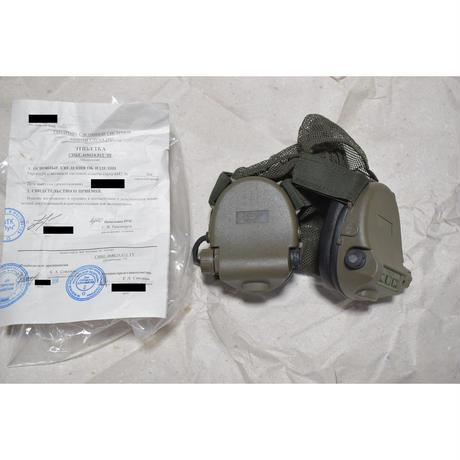 ロシア連邦軍官給品 GSSh-01 6M2 イヤーマフ ノイズキャンセリング機能付き