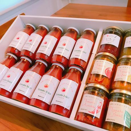 トマトジュースと小瓶詰合せボリュームセット