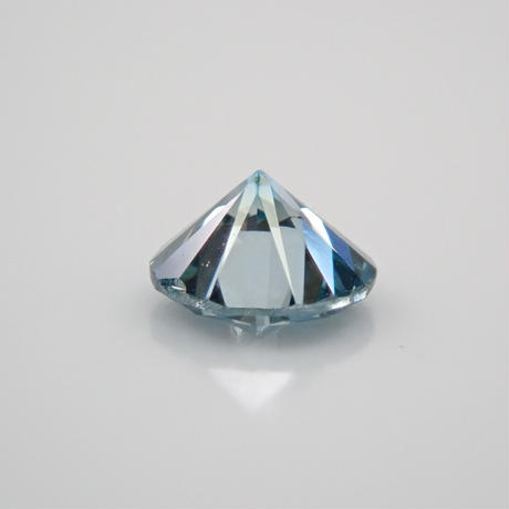 【7/11掲載】ブルーダイヤモンド 0.142ctルース(Treted blue,トリートメント)