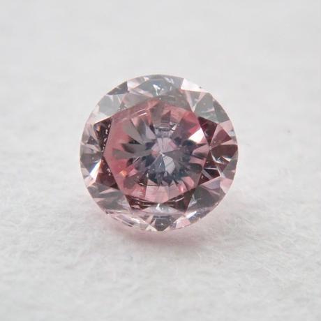 【10/31掲載】ピンクダイヤモンド 0.059ctルース(FANCY LIGHT PINK, SI2)