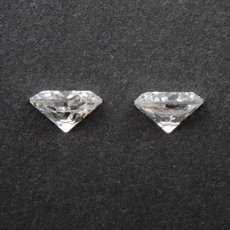 【6/22更新】ダイヤモンド 0.381ctルース(ペア)