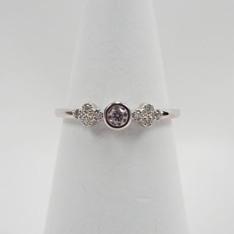 【11/8更新】Pt950ピンクダイヤモンド0.080ct リング