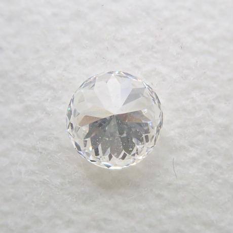 【8/10掲載】ダイヤモンド 0.200ctルース(E, VVS2,ラウンドモディファイドブリリアントカット)