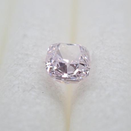 【9/30更新】パープルダイヤモンド 0.118ctルース(FANCY LIGHT PINK PURPLE, SI1)