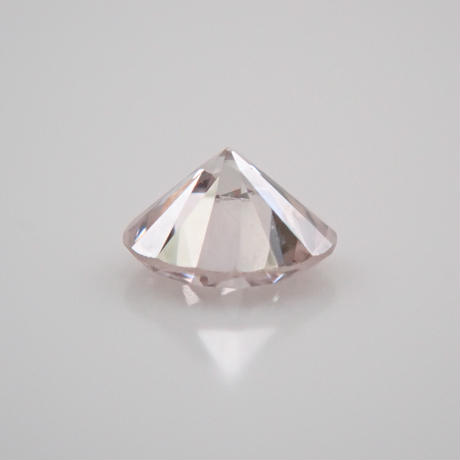 【7/10掲載】ピンクダイヤモンド 0.076ctルース(FAINT PINK, VS2)