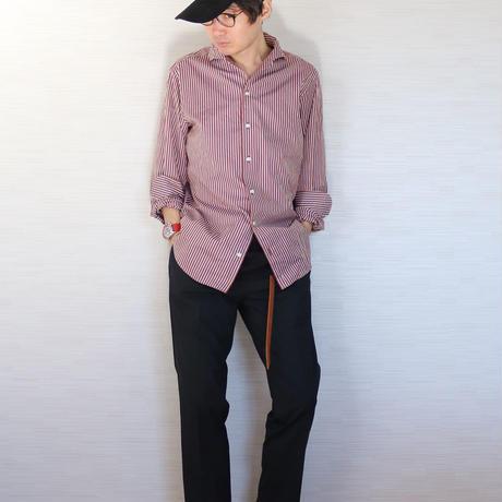 EDIFICE  ストライプドレスシャツ(カズマさん)