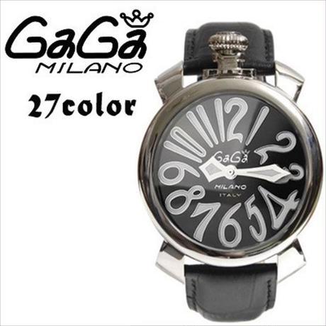 ガガミラノ GaGa MILANO (ガガミラノ) 時計 腕時計 40mm 27COLOR [GG-04]