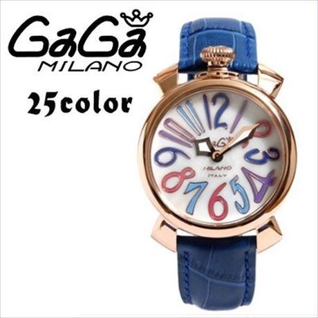 ガガミラノ GaGa MILANO (ガガミラノ) 時計 腕時計 40mm 25COLOR [GG-01]