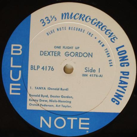 Dexter Gordon  – One Flight Up(Blue Note – BLP 4176)mono