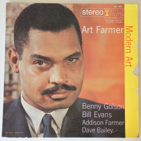 Art Farmer  ‎– Modern Art (United Artists Records ‎– UAS 5007)stereo