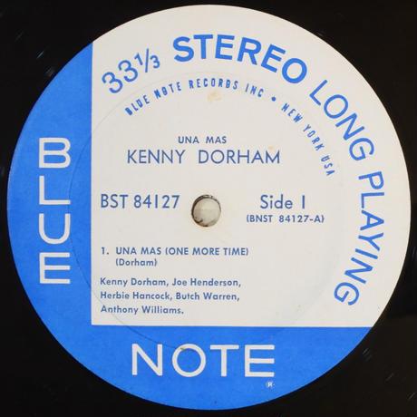Kenny Dorham – Una Mas  (Blue Note – BST 84127) stereo