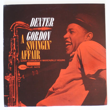 Dexter Gordon  ‎– A Swingin' Affair(Blue Note ‎– BLP 4133)mono