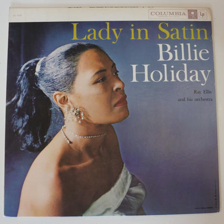 Billie Holiday With  Ray Ellis And His Orchestra  ‎– Lady In Satin(Columbia ‎– CL 1157)mono