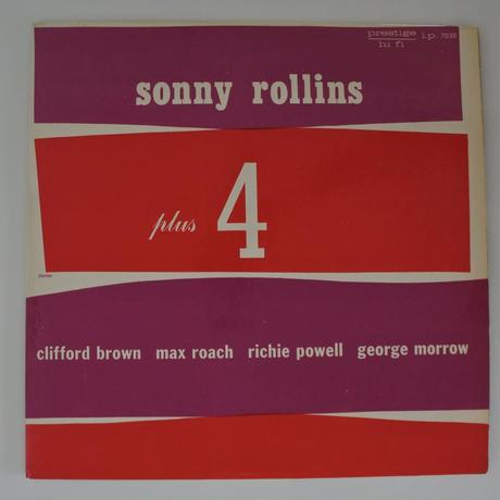Sonny Rollins – Plus 4(Prestige – PRLP 7038)mono