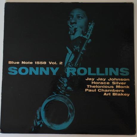 Sonny Rollins  – Sonny Rollins Vol. 2  ( Blue Note – BLP 1558) mono