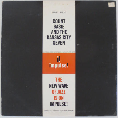 Count Basie And The Kansas City 7 ‎– Count Basie And The Kansas City 7(Impulse! ‎– A-15)mono