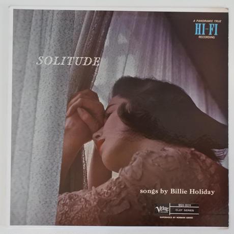 Billie Holiday – Solitude (Verve Records – MGV-8074) mono