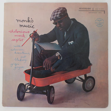 Thelonious Monk Septet ‎– Monk's Music(Riverside Records ‎– RLP 12-242)mono