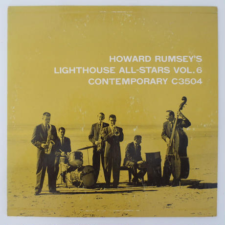 Howard Rumsey's Lighthouse All-Stars – Vol. 6(Contemporary Records – C 3504)mono