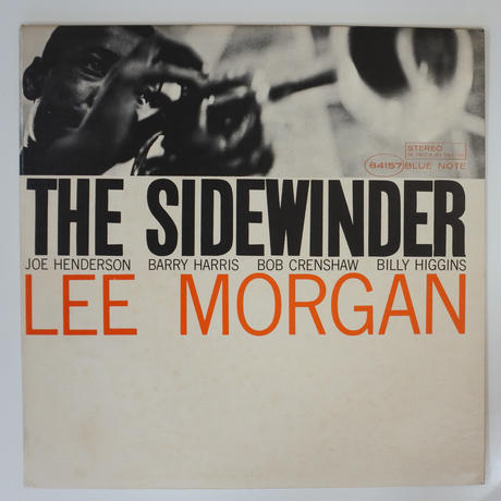 Lee Morgan - The Sidewinder(Blue Note  - BST 84157)stereo
