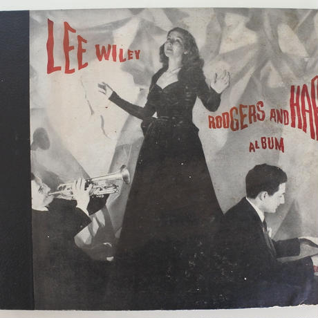 Lee Wiley / Rodgers and Hart Album ( GALA -  SP4枚組)mono