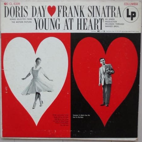 Doris Day, Frank Sinatra ‎– Young At Heart(Columbia ‎– CL-6339)mono 購入特典付き