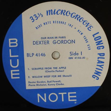 Dexter Gordon - Our Man In Paris( Blue Note – BLP 4146)mono