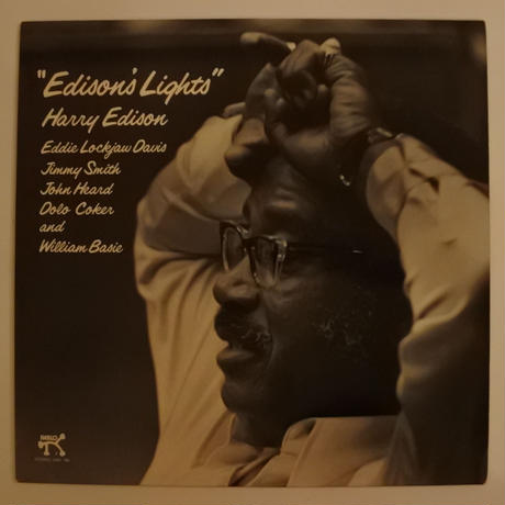 Harry Edison ‎– Edison's Lights( 独 Pablo Records ‎– 2310 780)stereo