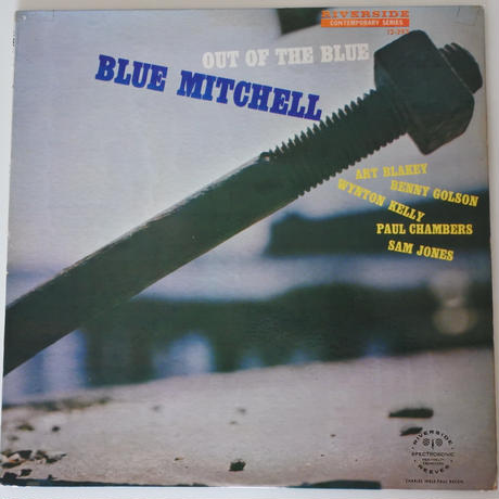 Blue Mitchell  – Out Of The Blue(Riverside Records – RLP 12-293)mono