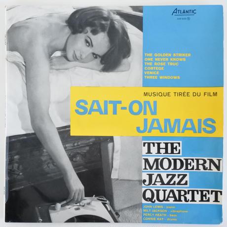 The Modern Jazz Quartet – Sait-On Jamais( Atlantic – 332 025)mono