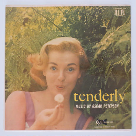 Oscar Peterson ‎– Tenderly(Clef Records ‎– MG C-696)mono