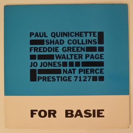 Paul Quinichette – For Basie(Prestige – Prestige 7127)mono