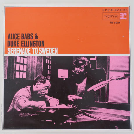 Alice Babs & Duke Ellington ‎– Serenade To Sweden(独Reprise Records ‎– RS 5024)stereo