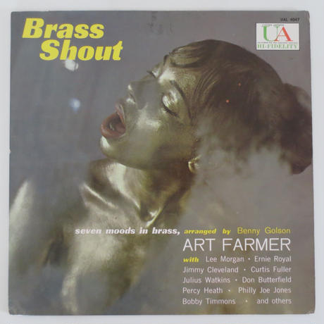 Art Farmer ‎– Brass Shout(United Artists Records ‎– UAL 4047)mono