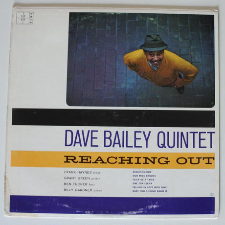 Dave Bailey Quintet  ‎– Reaching Out (Jazztime ‎– JT-003)mono