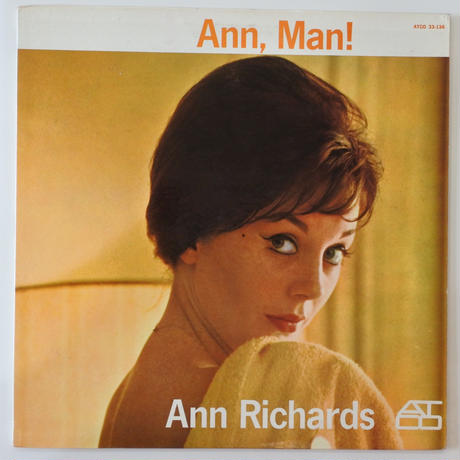 Ann Richards  ‎– Ann, Man! (ATCO Records ‎– 33-136)mono