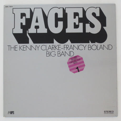 Kenny Clarke - The Francy Boland Big Band ‎/ Faces 17 Men & Their Music(仏MPS 15019)stereo