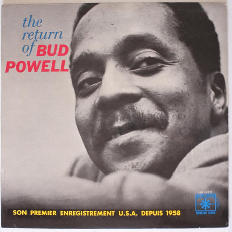 Bud Powell  ‎– The Return Of Bud Powell (Roulette ‎– VR. 56029)mono