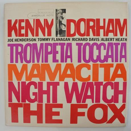 Kenny Dorham – Trompeta Toccata(Blue Note – BLP 4181)mono