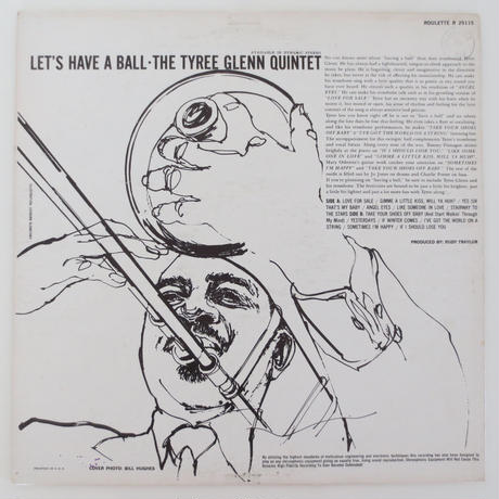 The Tyree Glenn Quintet / Let's Have A Ball (Roulette R25115) mono